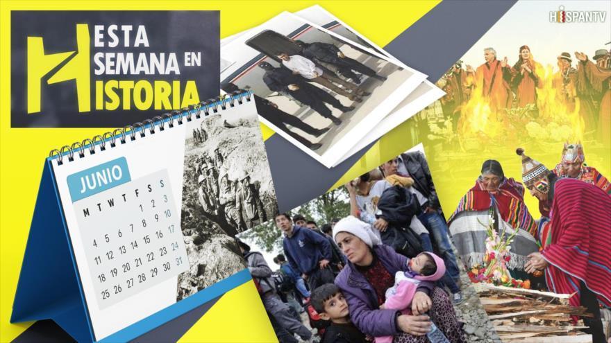 Esta Semana en la Historia: Junio 17-23