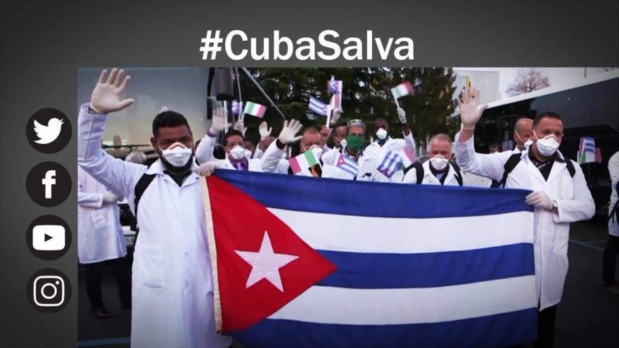 Cuba lucha contra coronavirus; envía médicos a varios países