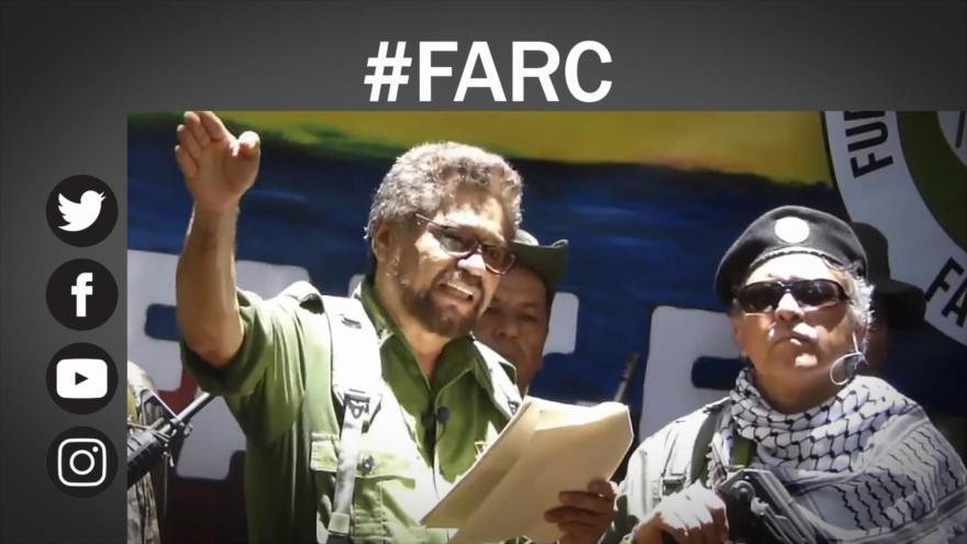 Disidentes de las FARC anuncian regreso a lucha armada