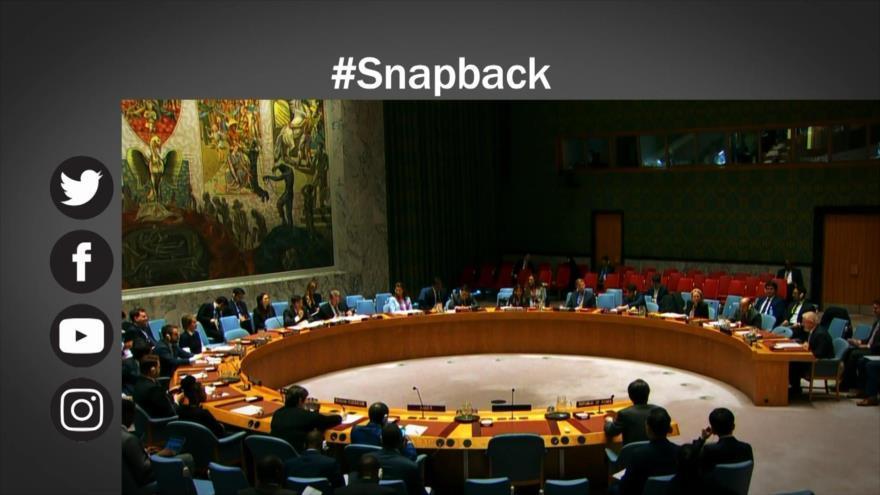 EEUU, aislado ante el intento de restablecer sanciones contra Irán