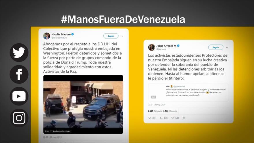 EEUU, ¡Saca tus manos fuera de Venezuela!