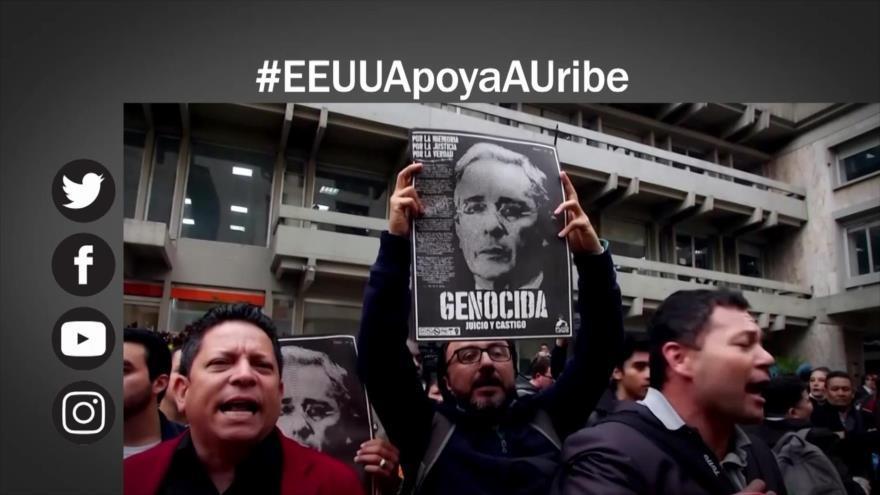 Estados Unidos apoya a Uribe