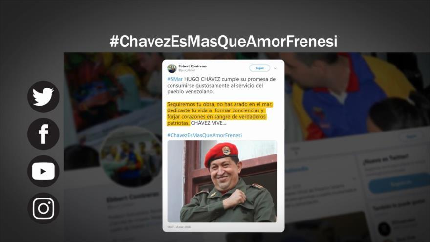 Homenaje a Chávez, a 7 años de su fallecimiento
