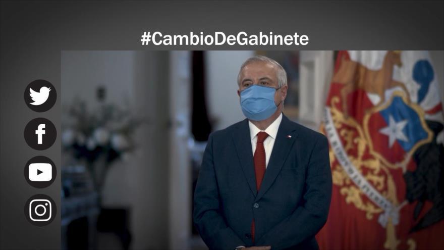 Se agudiza crisis en Chile, renuncia ministro de Salud
