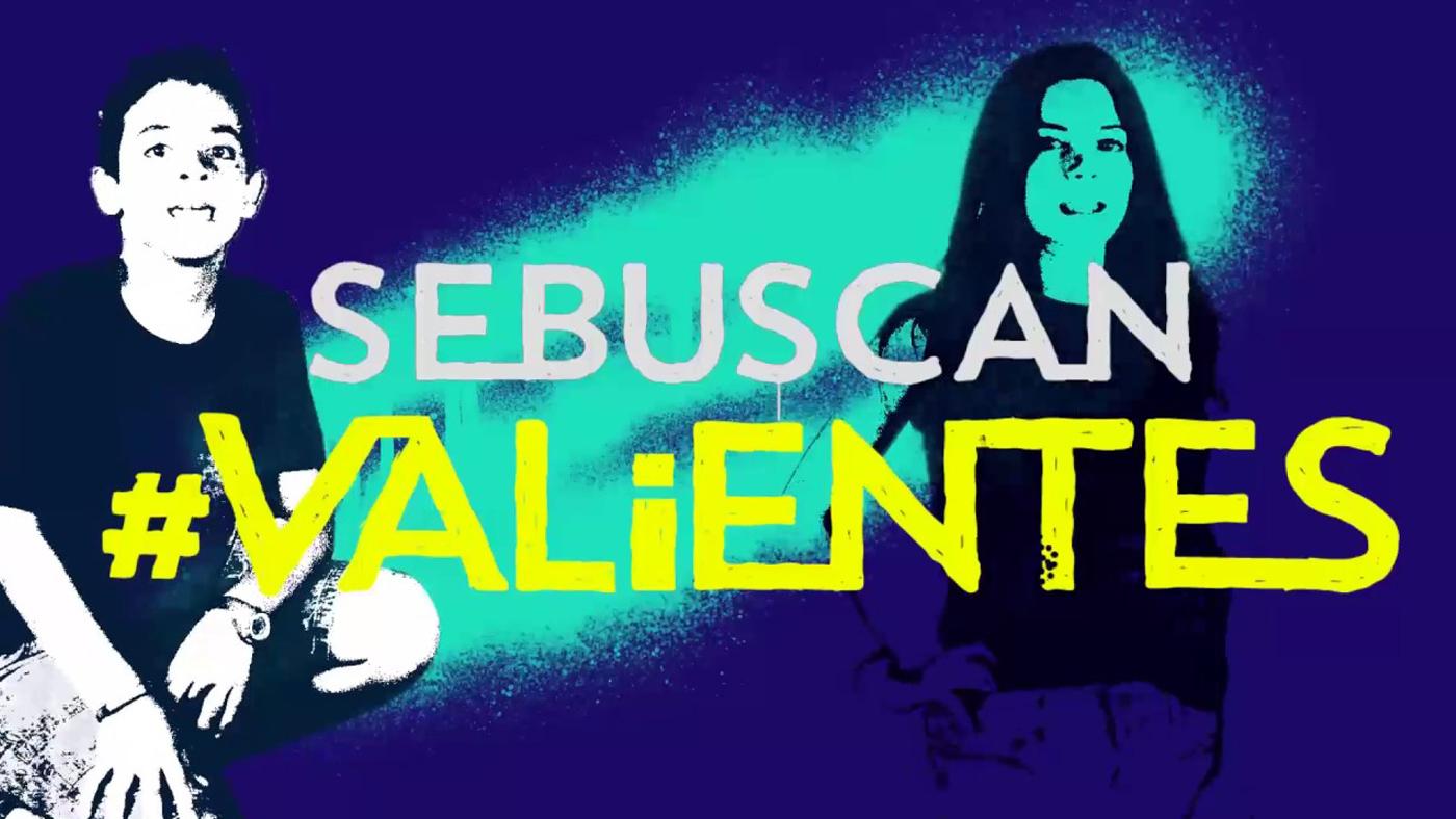 Especiales Una campaña contra el acoso escolar - Videoclip Se buscan valientes