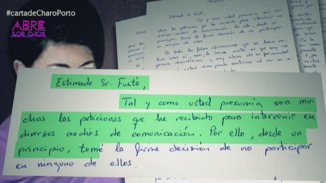 Temporada 1 Programa 9 - La carta de Rosario Porto