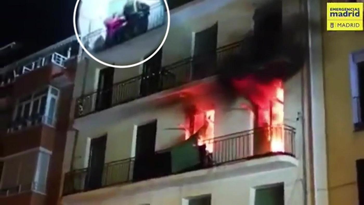 2019 Mediodía 29/03/2019 - Incendio en Madrid