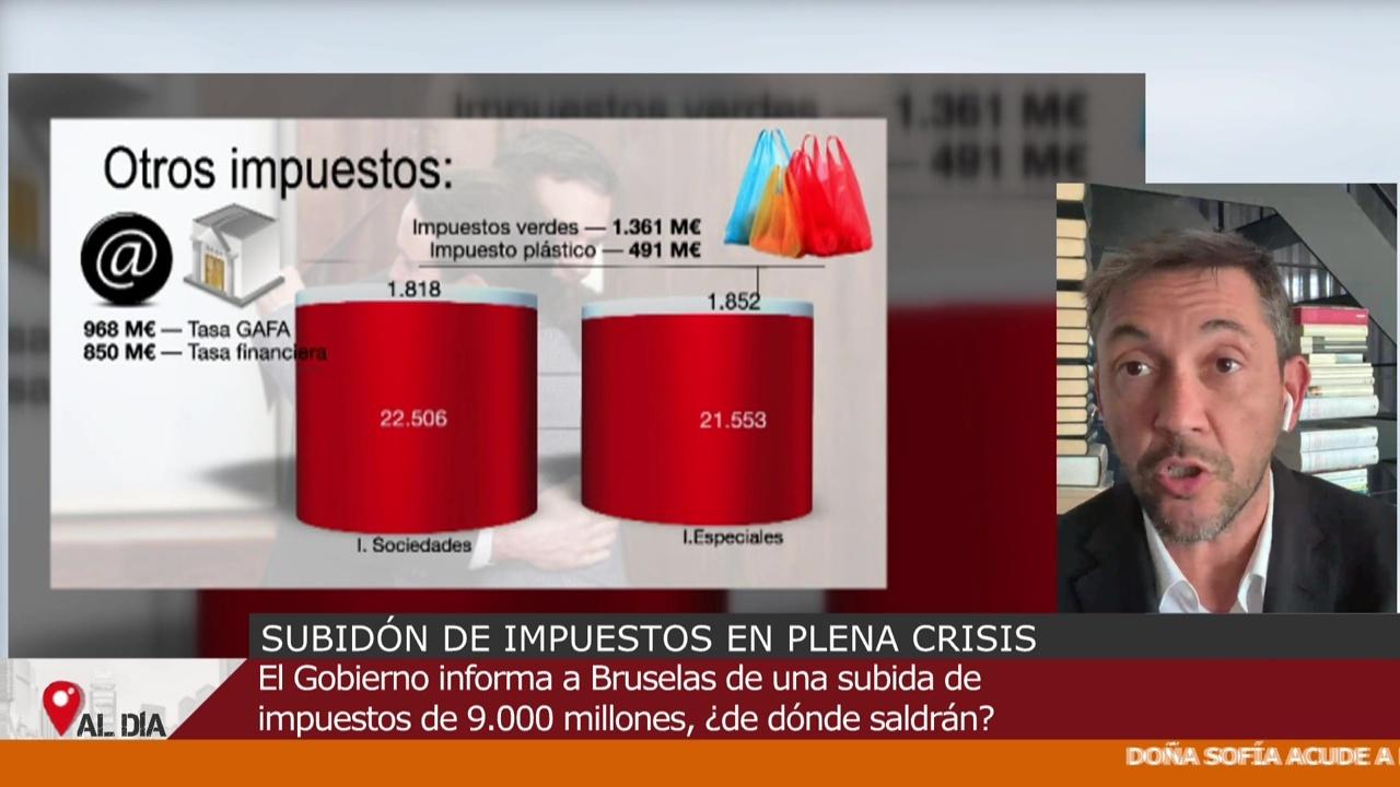"""Diario """"Amancio Ortega no va a pagar más impuestos, usted sí"""" - Diario 16/10/2020"""