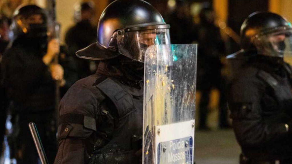 Diario Disturbios  contra las restricciones - Diario 30/10/2020