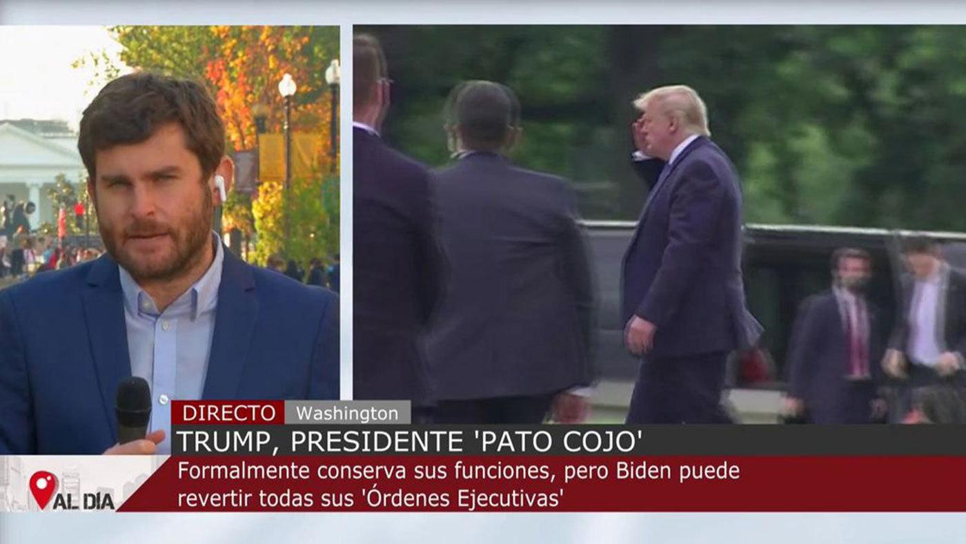 Fin de semana Trump no descarta indultarse a sí mismo antes de abandonar la presidencia de Estados Unidos - Mediodía 07/11/2020