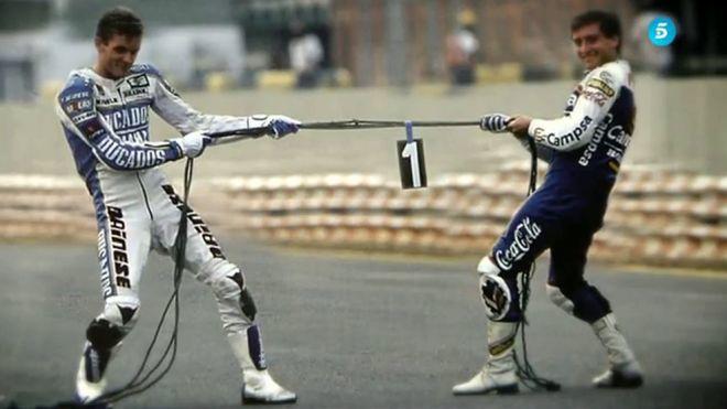 2015 La última vuelta - La rivalidad entre Sito Pons y Joan Garriga en el Mundial de 1988