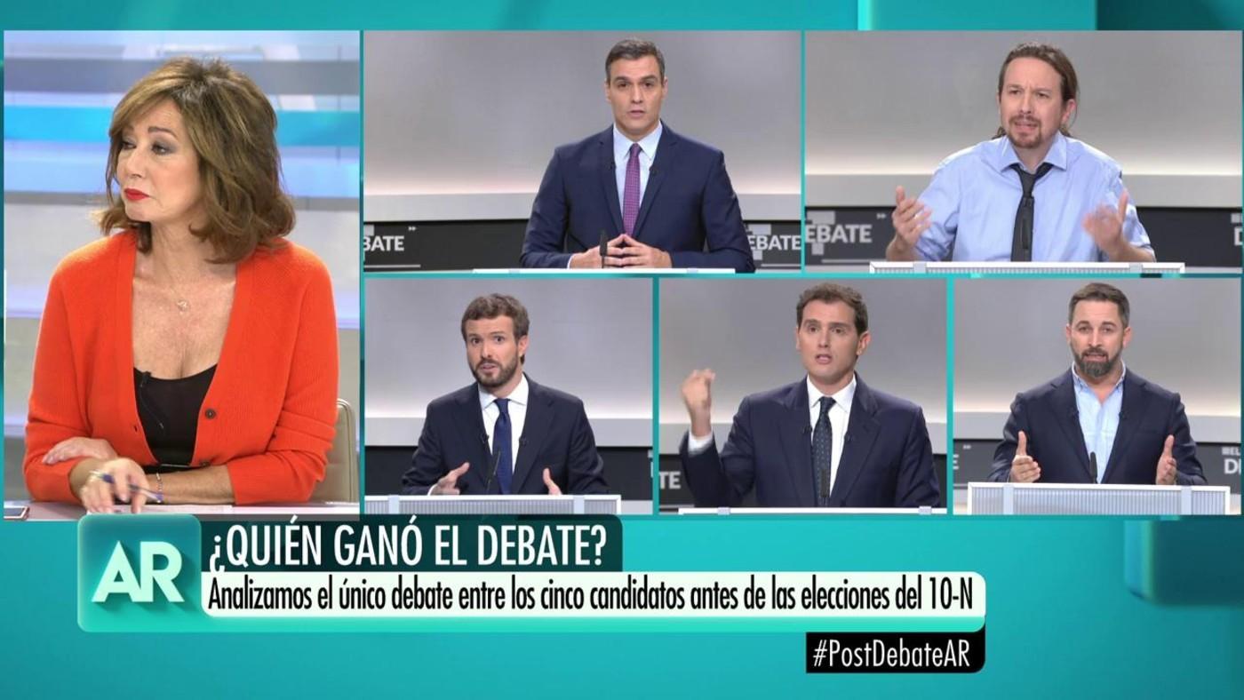 2019 Progr. 3.711 - Debate electoral a cinco