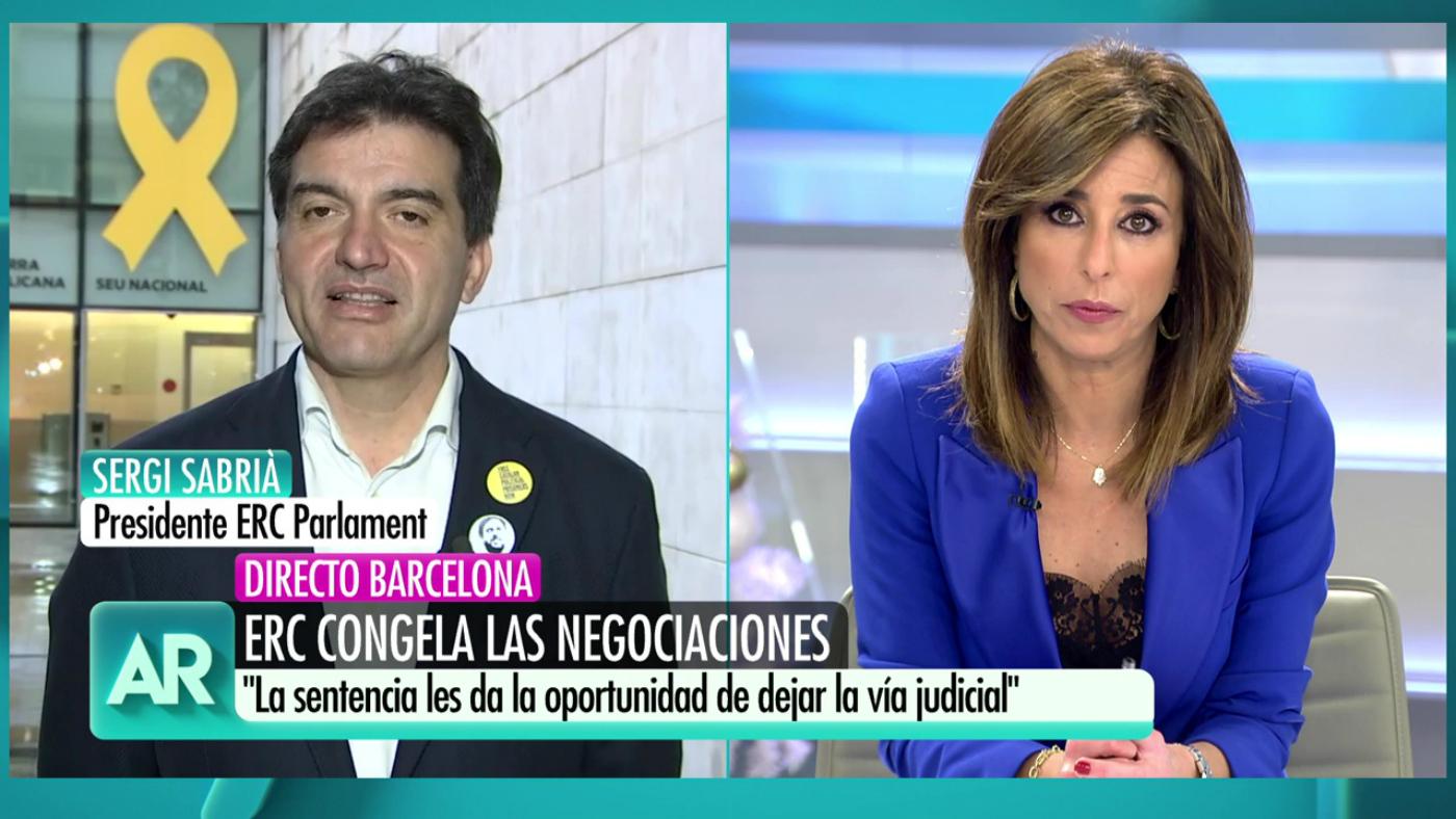 """2019 Progr. 3.743 - Sergi Sabrià: """"De los socialistas esperamos una solución política para Cataluña"""""""