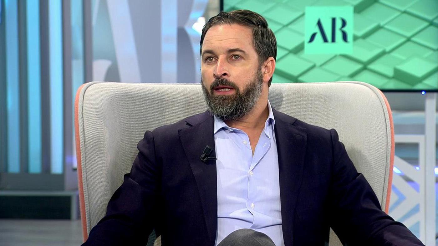 2020 Progr. 3929 - Ana Rosa entrevista a Santiago Abascal en el plató