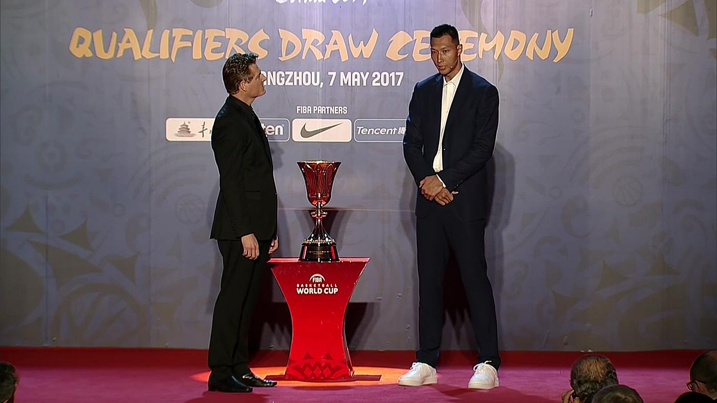 Copa del Mundo FIBA 2019 Sorteo clasificación China 2019 - Sorteo clasificación Copa del Mundo FIBA 2019