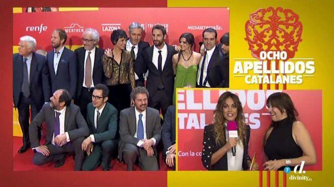 Temporadas y episodios La alfombra roja - Première 8 apellidos catalanes
