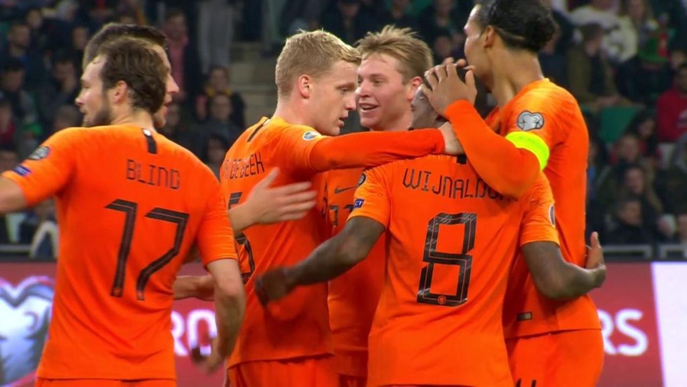 Fase de clasificación Bielorrusia - Holanda - Jornada 8 Grupo C