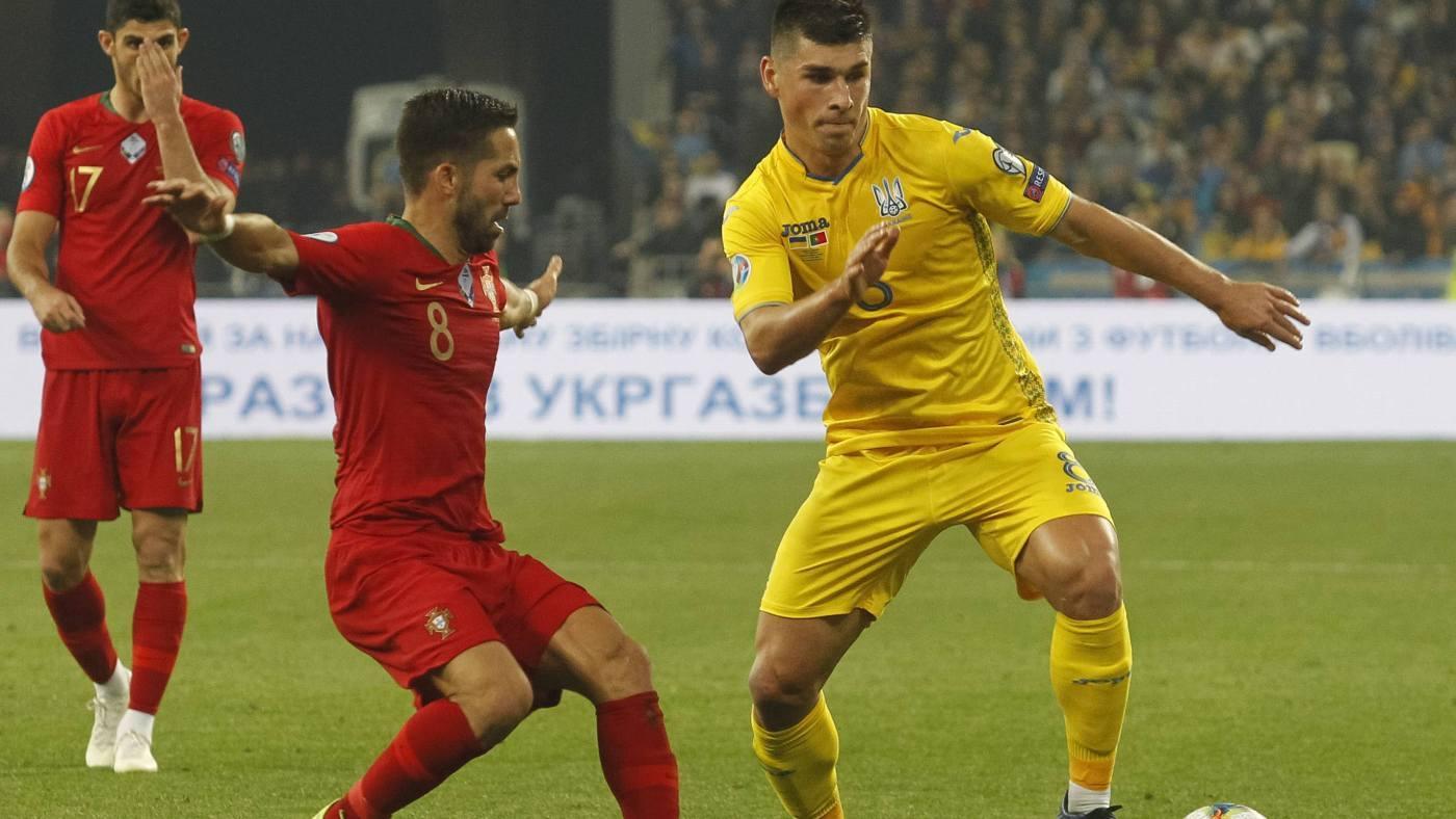 Fase de clasificación Ucrania - Portugal - Jornada 8 Grupo C