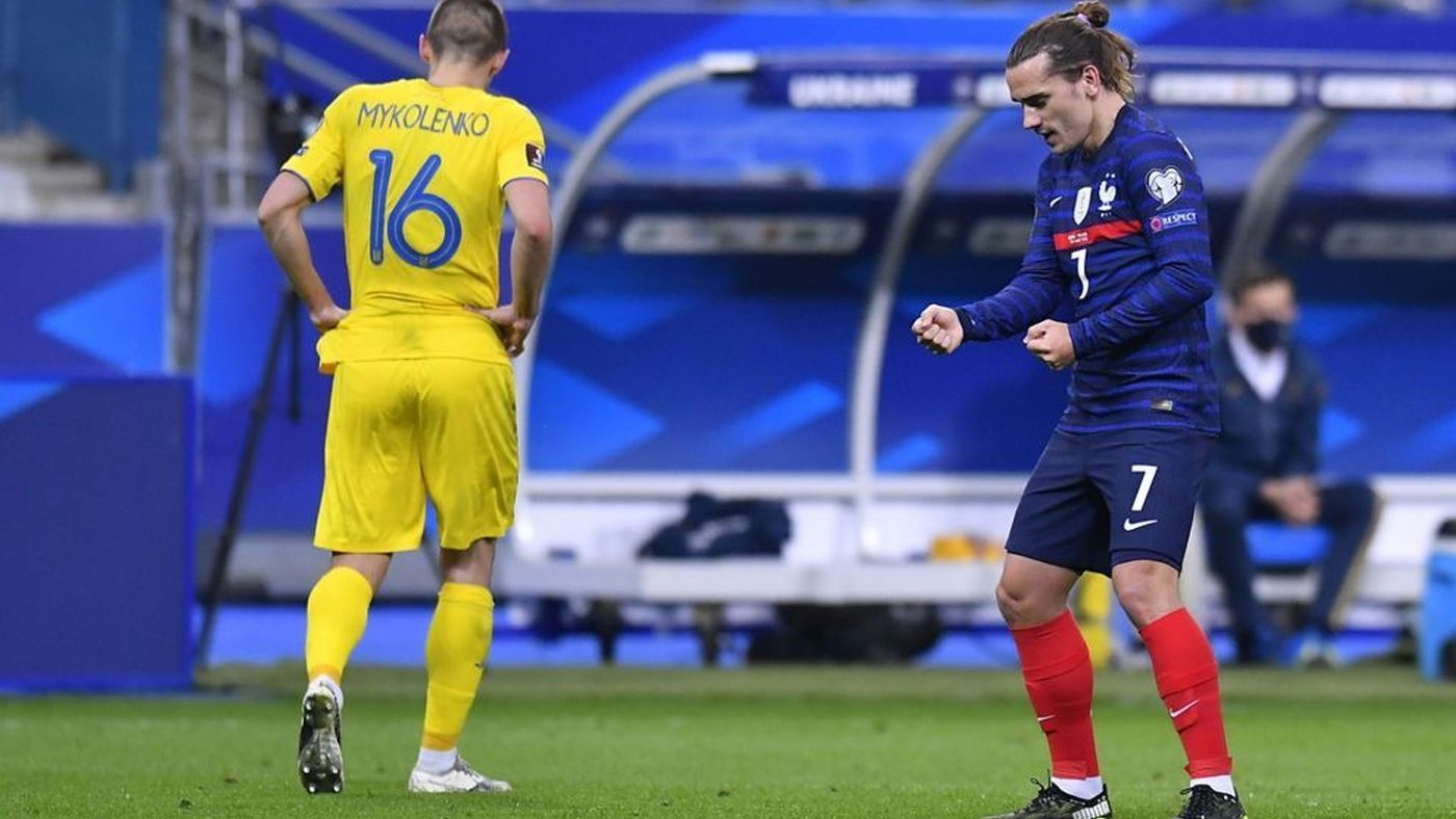 Clas. Mundial 2022 Francia - Ucrania - Francia - Ucrania