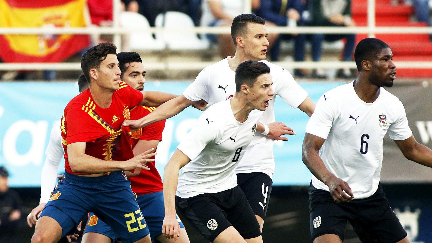 Sub 21 España - Austria - España - Austria