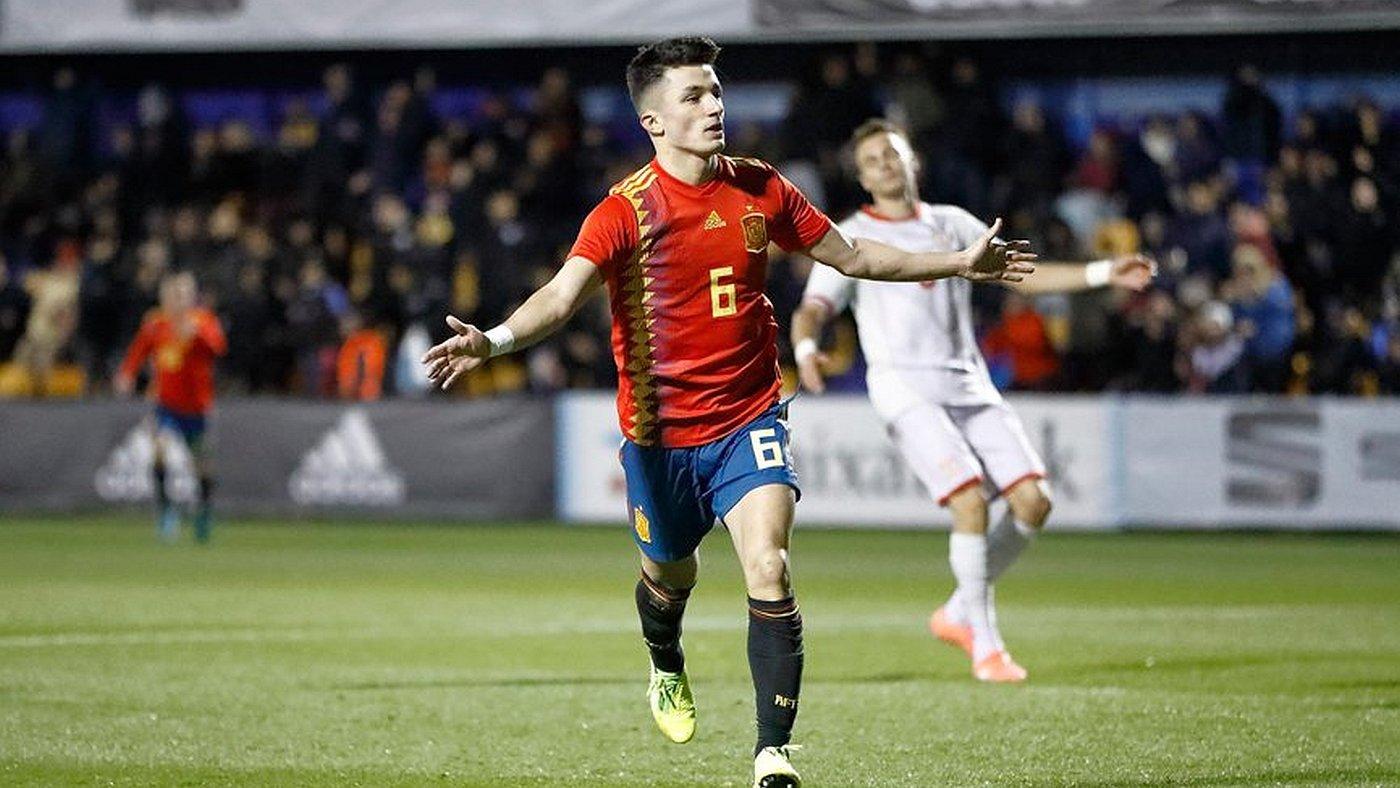 Sub 21 España - Macedonia - España - Macedonia