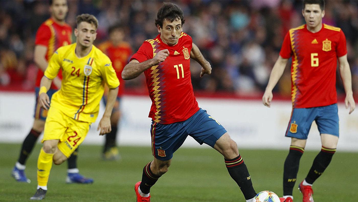Sub 21 España - Rumanía - España - Rumanía