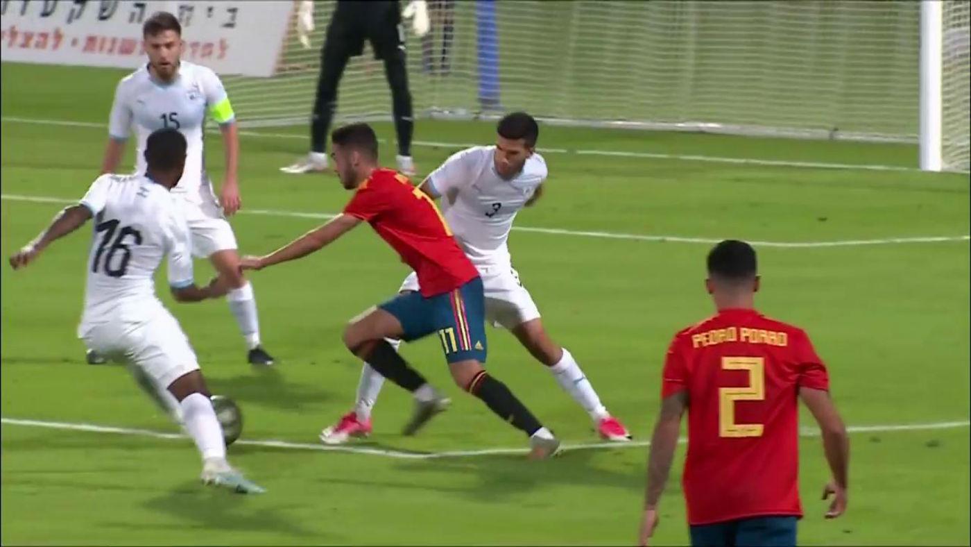 Sub 21 Israel - España - Israel - España