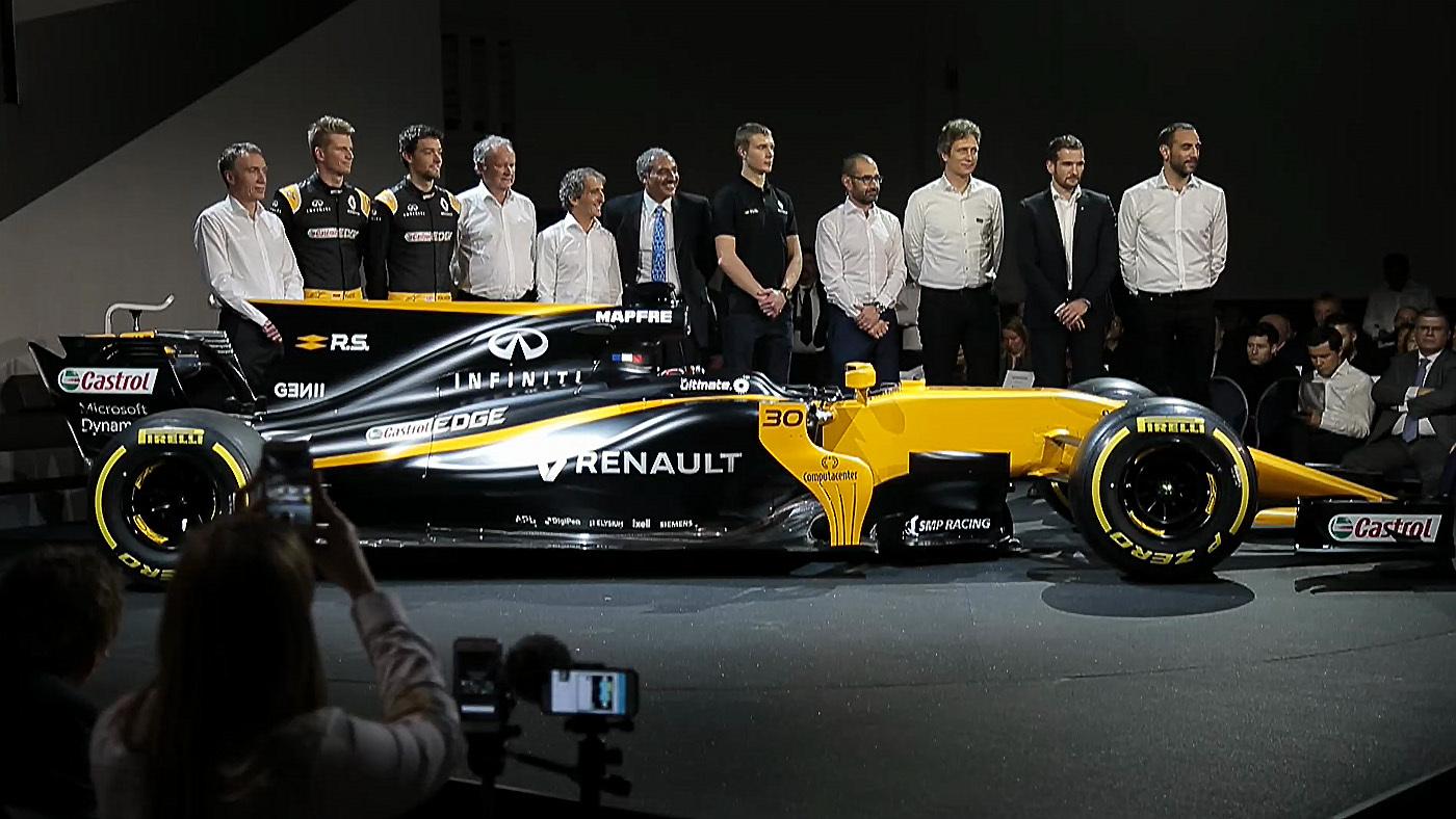 Temporada 2017 Programa 1.091 - Lo que planea Renault para la F1