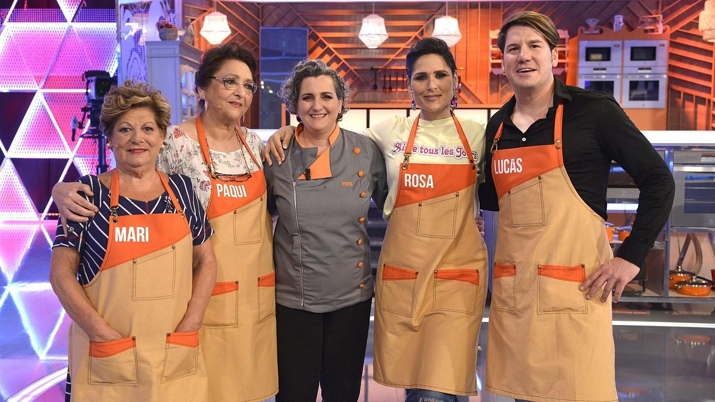 Temporada 1 Programa 1 - Con Rosa López, Andy & Lucas, Alba Carrillo y Noemí Salazar