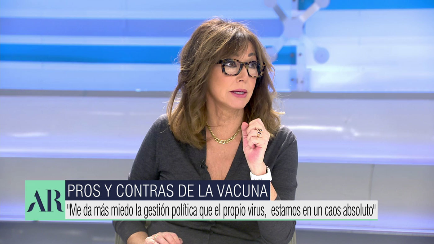 Vídeos El recado de Ana Rosa al ministro Illa, sobre la vacuna: