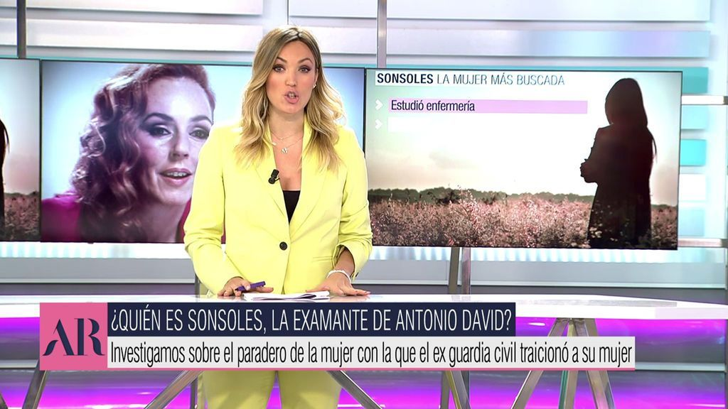 Vídeos Encontramos a Sonsoles: Todos los datos sobre la presunta amante de Antonio David - El programa de Ana Rosa 31/03/2021
