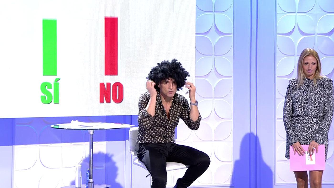 2965-3015 Progr. 3.007 - Los votantes deciden: ¿Se cortará Josué el pelo en el plató?