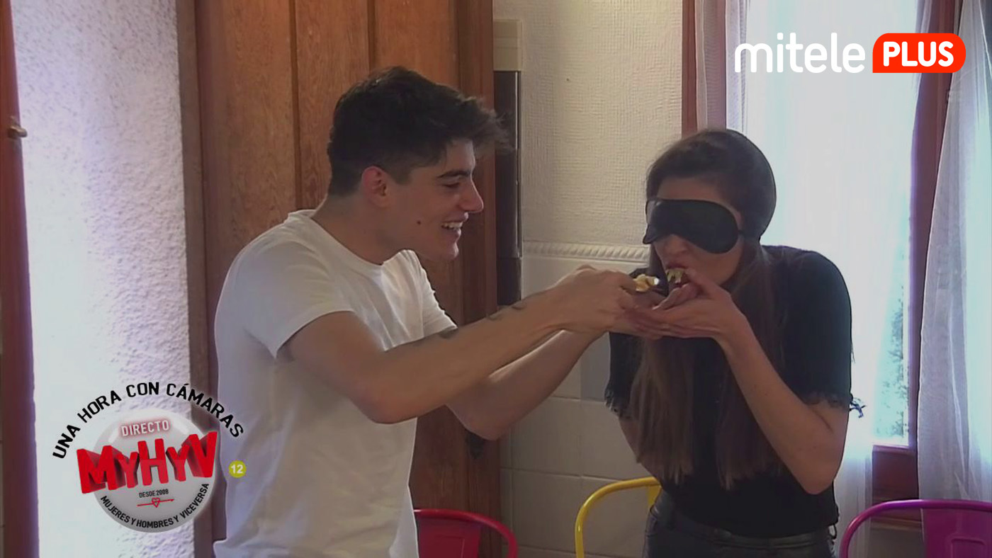 Una hora con cámaras ¡Concurso de cocina a ciegas! - 03/02/2021