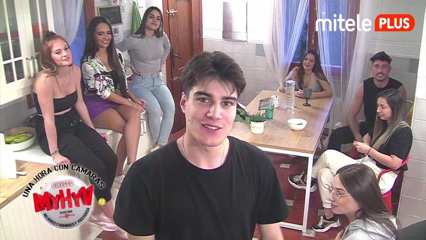 Una hora con cámaras Iván, Julen y las chicas se sinceran - 18/02/2021