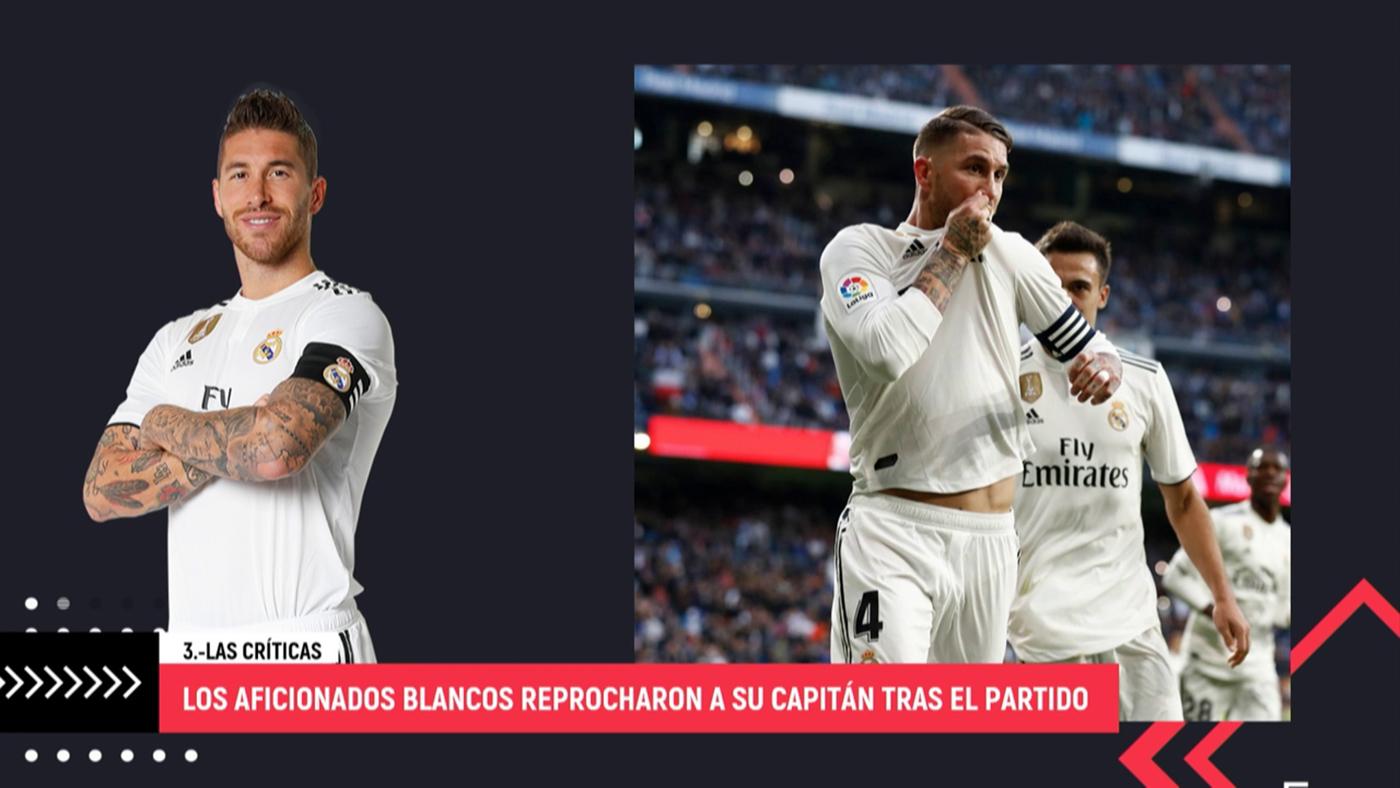 Temporada 4 Programa 999 - Los aficionados del Real Madrid cargan contra Sergio Ramos