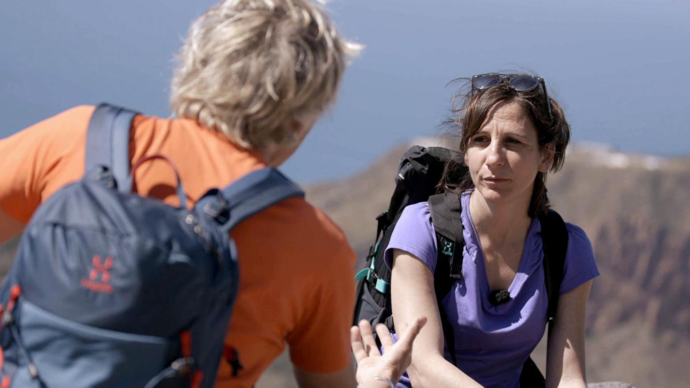 Temporada 7 Programa 48 - Malena Alterio escala el volcán Strómboli