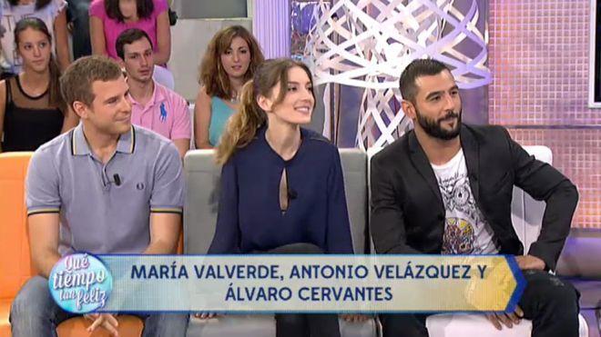 2014 Programa 428 - María Valverde, Antonio Velázquez y Álvaro Cervantes