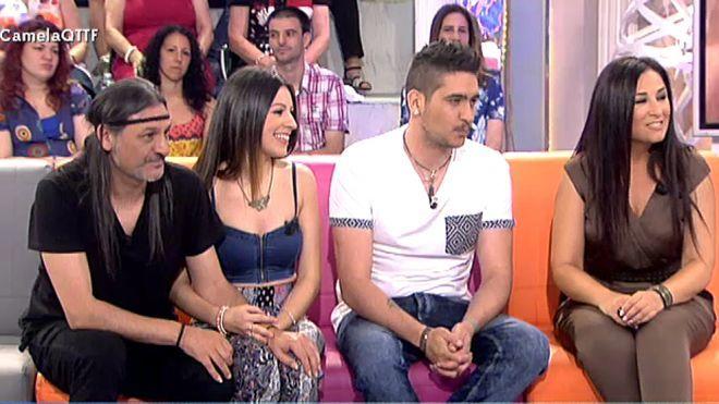 2015 Programa 500 - Paulina Rubio, Nek y Camela