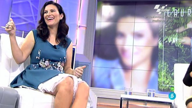 2015 Programa 534 - Laura Pausini visita el plató