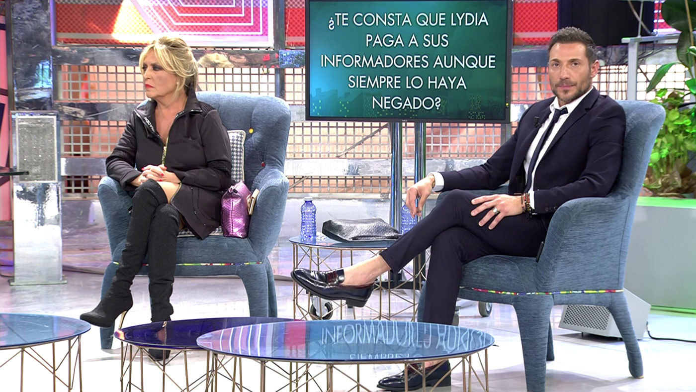 2020 Programa 608 - Todas las preguntas (y mentiras) del 'polideluxe' de Lydia Lozano y Antonio David Flores