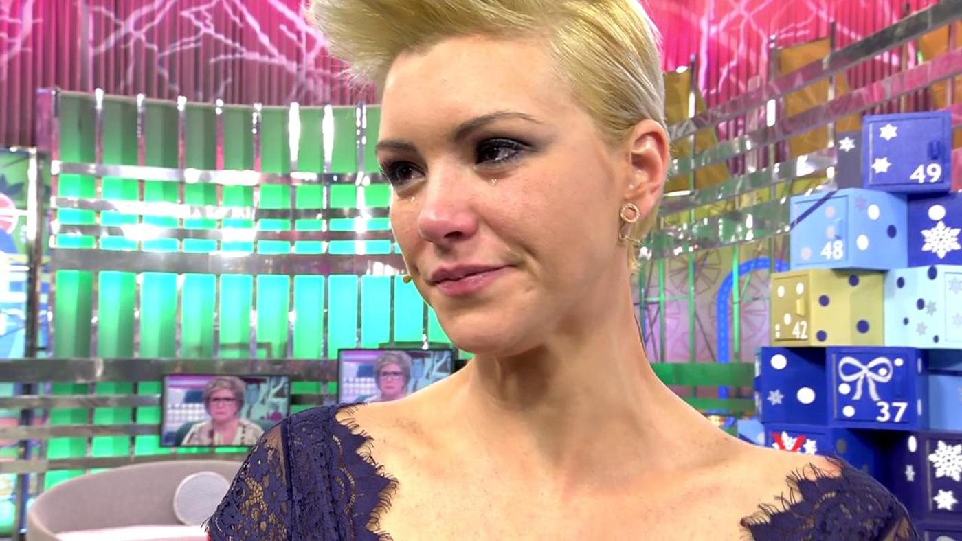 2018 Naranja 13/12/2018 - María Jesús Ruiz se derrumba en el plató