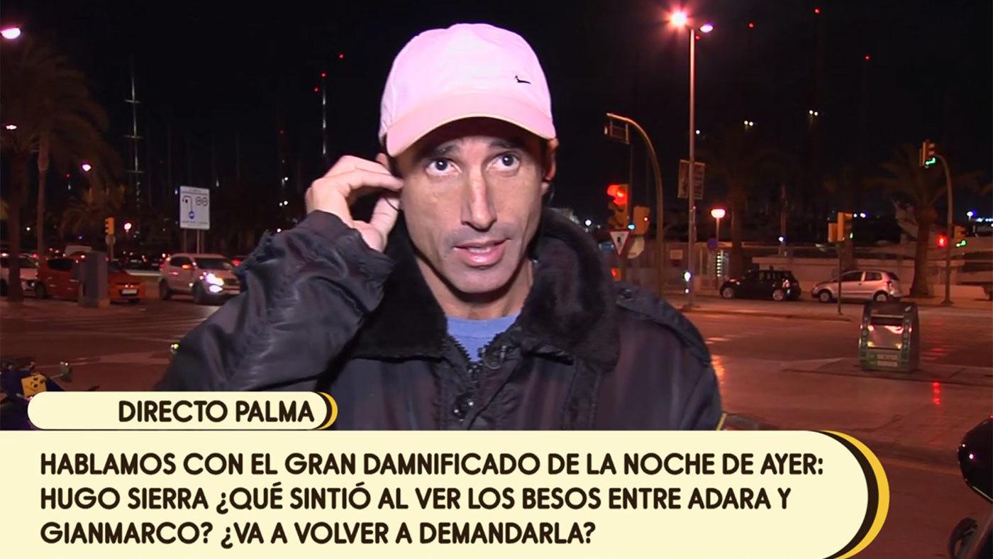 2019 Banana 13/12/2019 - ¿Qué sintió Hugo Sierra al ver los besos de Adara y Gianmarco?