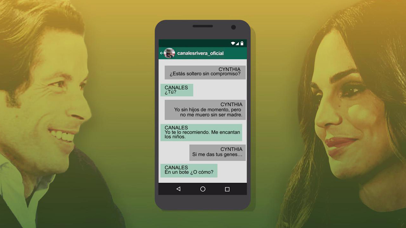 2020 Limón 21/12/2020 - Canales Rivera da la cara tras los mensajes con Cynthia