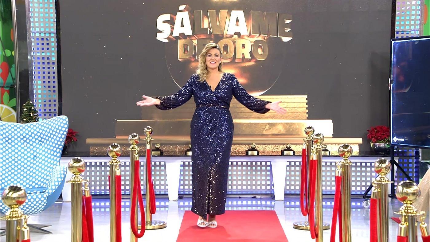 2020 Limón 31/12/2020 - ¡Arranca la gala de los Premios Sálvame de Oro 2020!