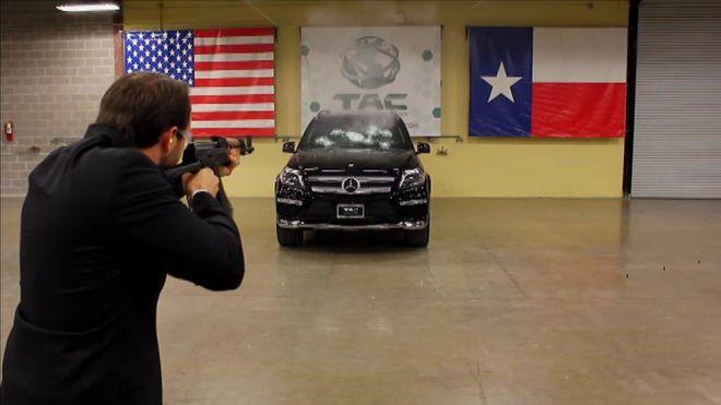 2014 Programa 89 - Mercedes GL blindado