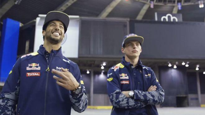 2016 Programa 181 - Ricciardo y Verstappen se divierten conduciendo un dron