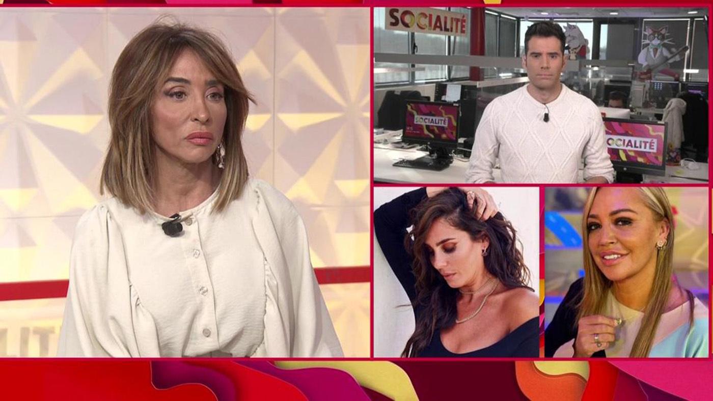 Anabel Pantoja reacciona, hundida, al brutal ataque de Patiño - Programa 419