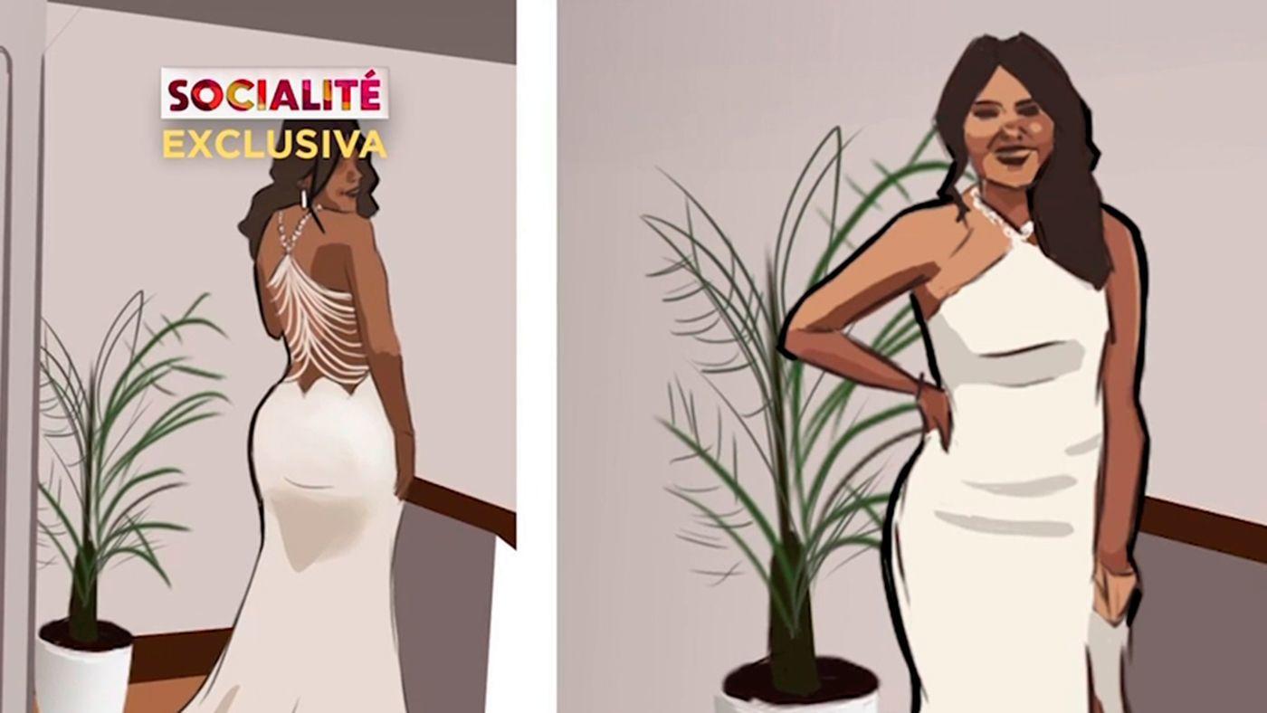 Así es el vestido de novia de Isa Pantoja - Programa 428