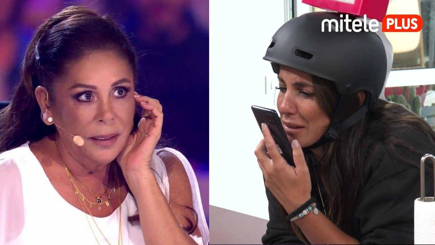 Anabel Pantoja Anabel, emocionda con la llamada de su tía - ¡Isabel Pantoja al  teléfono!