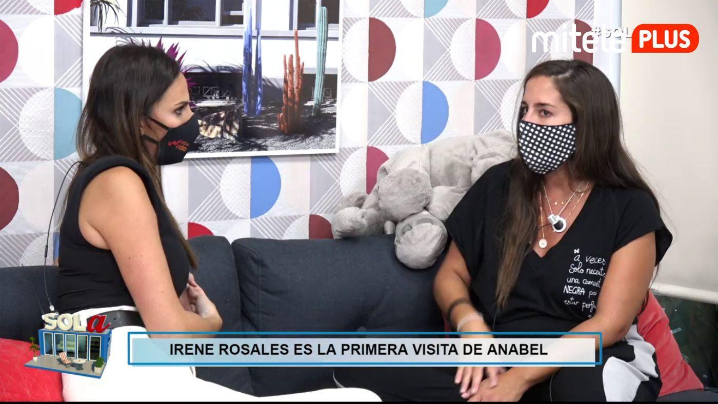 Anabel Pantoja Primera visita al 'pisito' - Irene Rosales, cuñada de Anabel, visita el 'pisito'